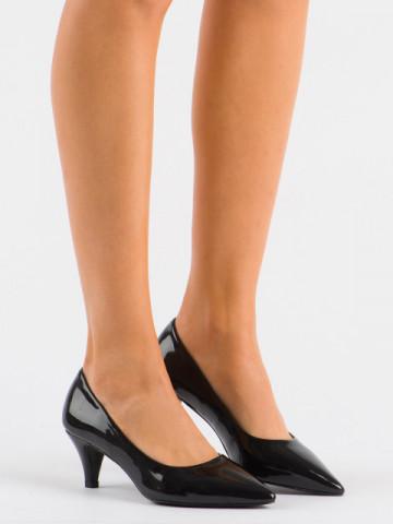 Pantofi cu toc cod 1003 Black