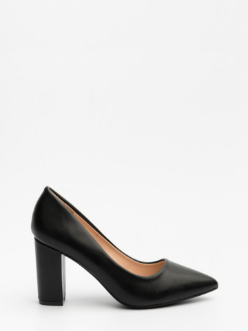 Pantofi cu toc cod 4049 Black
