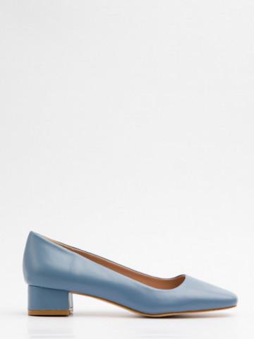 Pantofi cu toc cod A21-610 Blue