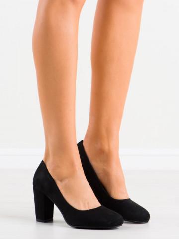Pantofi cu toc cod DH01 Black