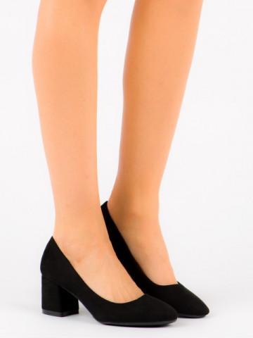 Pantofi cu toc cod FM1089 Black