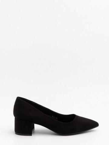 Pantofi cu toc cod LL81 Black