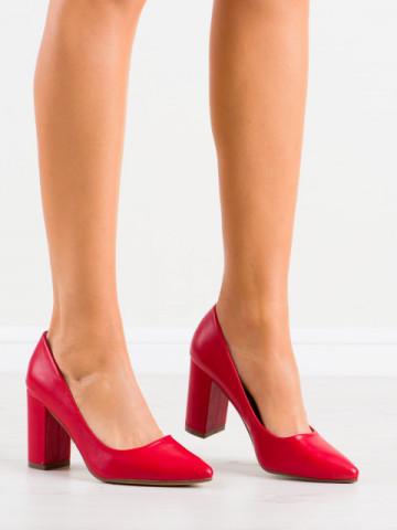 Pantofi cu toc cod NF65 Red