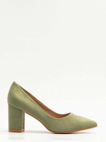 Pantofi cu toc cod X21-238 Green
