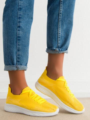 Pantofi sport cod 0127 Yellow