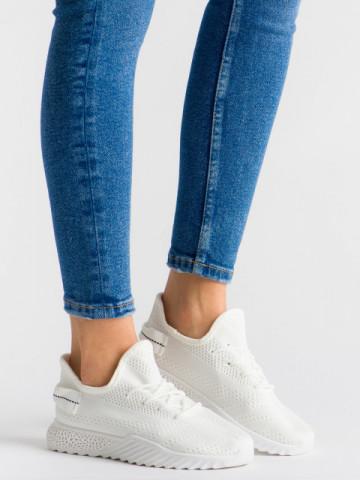 Pantofi sport cod 1659 White
