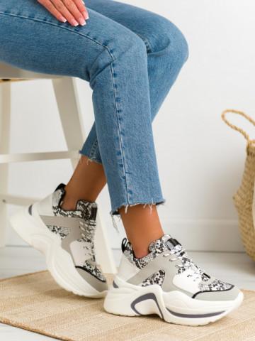 Pantofi sport cod 2019-A11 White