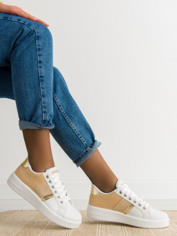 Pantofi sport cod 2050 Khaki
