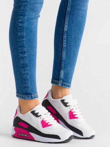 Pantofi sport cod 351-19 Black/Fuschia