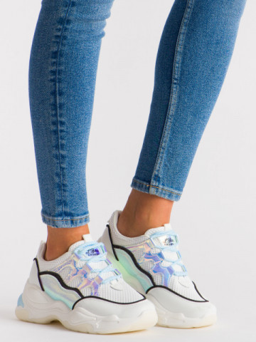 Pantofi sport cod 5819 White