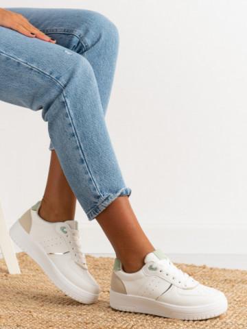 Pantofi sport cod 6118 Beige