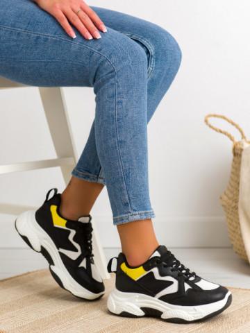 Pantofi sport cod 8073-1 Black