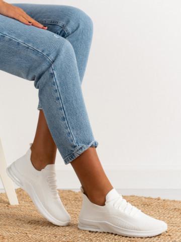 Pantofi sport cod 887 White