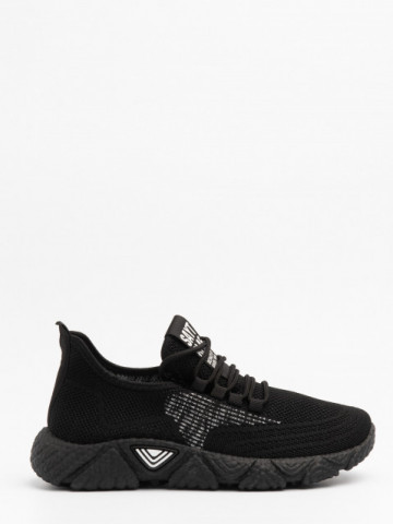 Pantofi sport cod 98007 Black/White