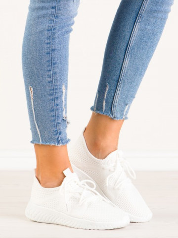 Pantofi sport cod A-5251 White