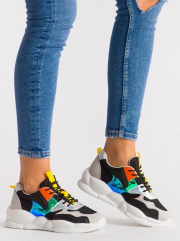 Pantofi sport cod A88-65 Black