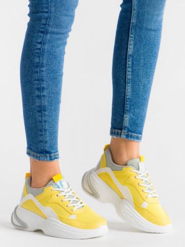 Pantofi sport cod ABC-315 Yellow
