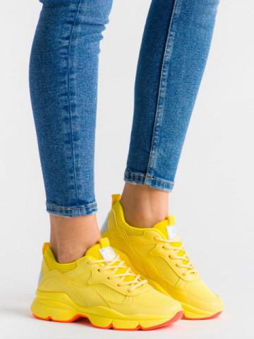 Pantofi sport cod ABC-316 Yellow