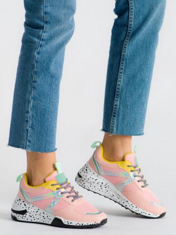 Pantofi sport cod ABC-317 Pink