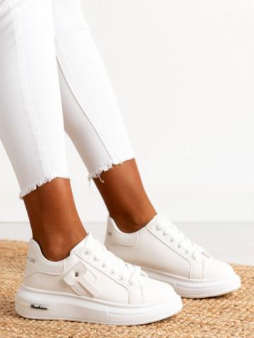 Pantofi sport cod B21-508 White
