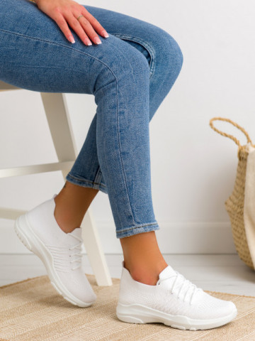 Pantofi sport cod C9239 Blanco