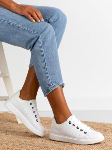 Pantofi sport cod D791 White