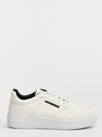 Pantofi sport cod D855 White