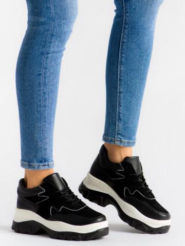 Pantofi sport cod E3260 Black