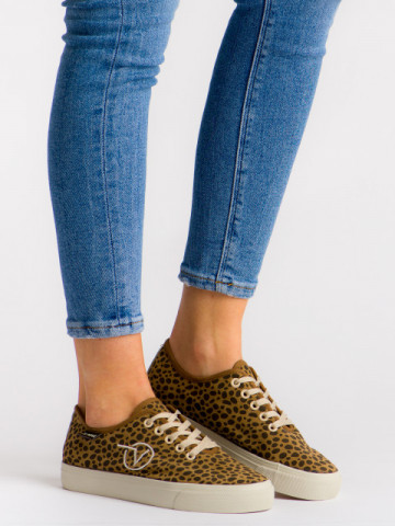 Pantofi sport cod H2192 Leopard