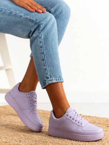 Pantofi sport cod J1859 Purple