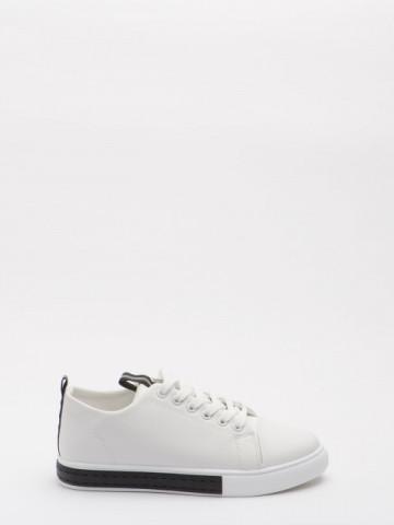 Pantofi sport cod KFS-1118 White
