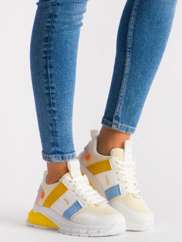 Pantofi sport cod LLS-004 Yellow