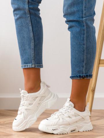 Pantofi sport cod S23 White