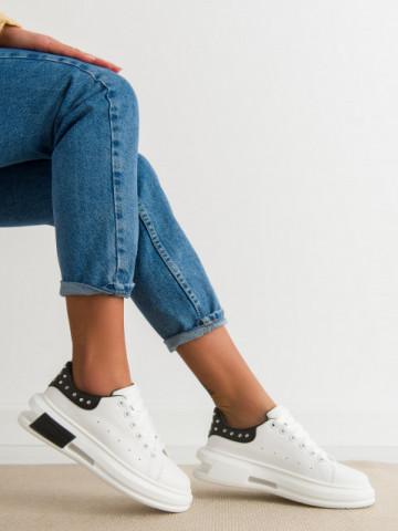 Pantofi sport cod SC36 White/Black