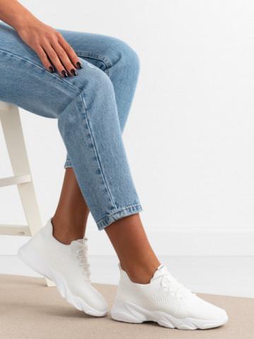 Pantofi sport cod X2958 White