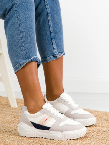 Pantofi sport cod X2983 Grey