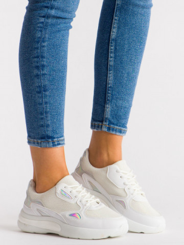 Pantofi sport cod XL17-26 White