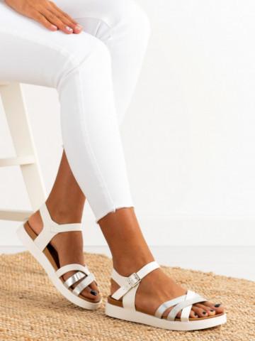 Sandale cod 9022-32 White