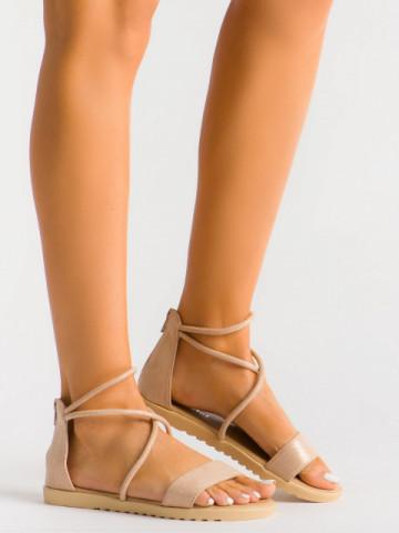 Sandale cod B83 Nude