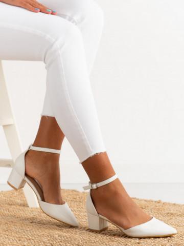 Sandale cu toc cod XQ263 Silver