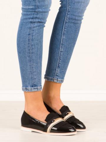 Pantofi casual cod 6216-1 Black
