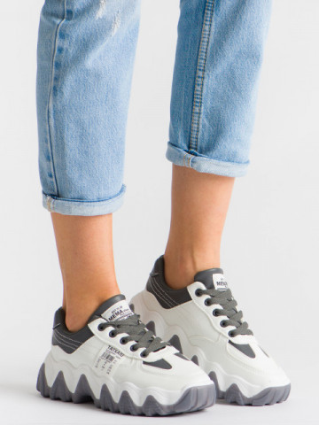 Pantofi sport cod 9915 Grey