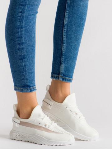 Pantofi sport cod 1653 White