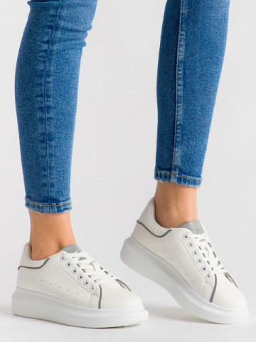 Pantofi sport cod R-660 White