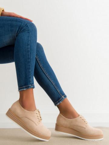 Pantofi casual cod 8998-45 Beige