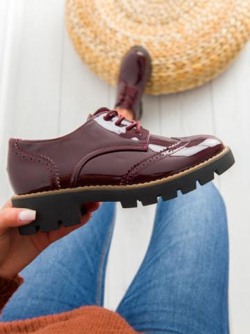 Pantofi casual cod DS9 Wine