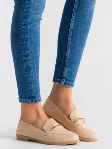Pantofi casual cod H111 Beige