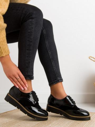 Pantofi casual cod S025 Black