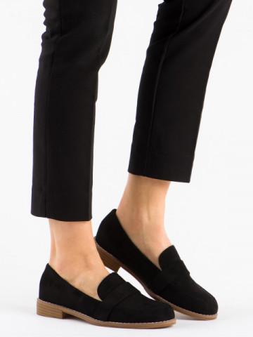 Pantofi casual cod T366 Black