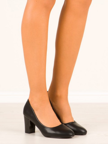 Pantofi cod XQ79 Black
